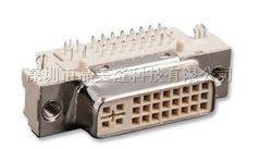 点击浏览TE CONNECTIVITY - 1734148-1. - 插座 DVI-I 29触点 直角型 通孔安装产品的大图!